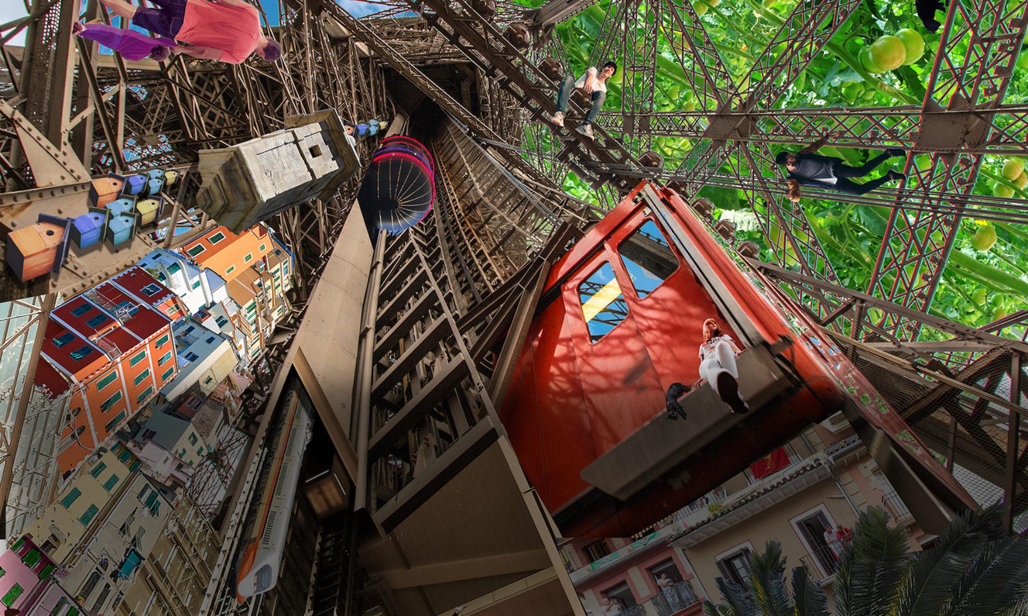 """""""La Cité des ascensions durables """" Concours d'architecture"""